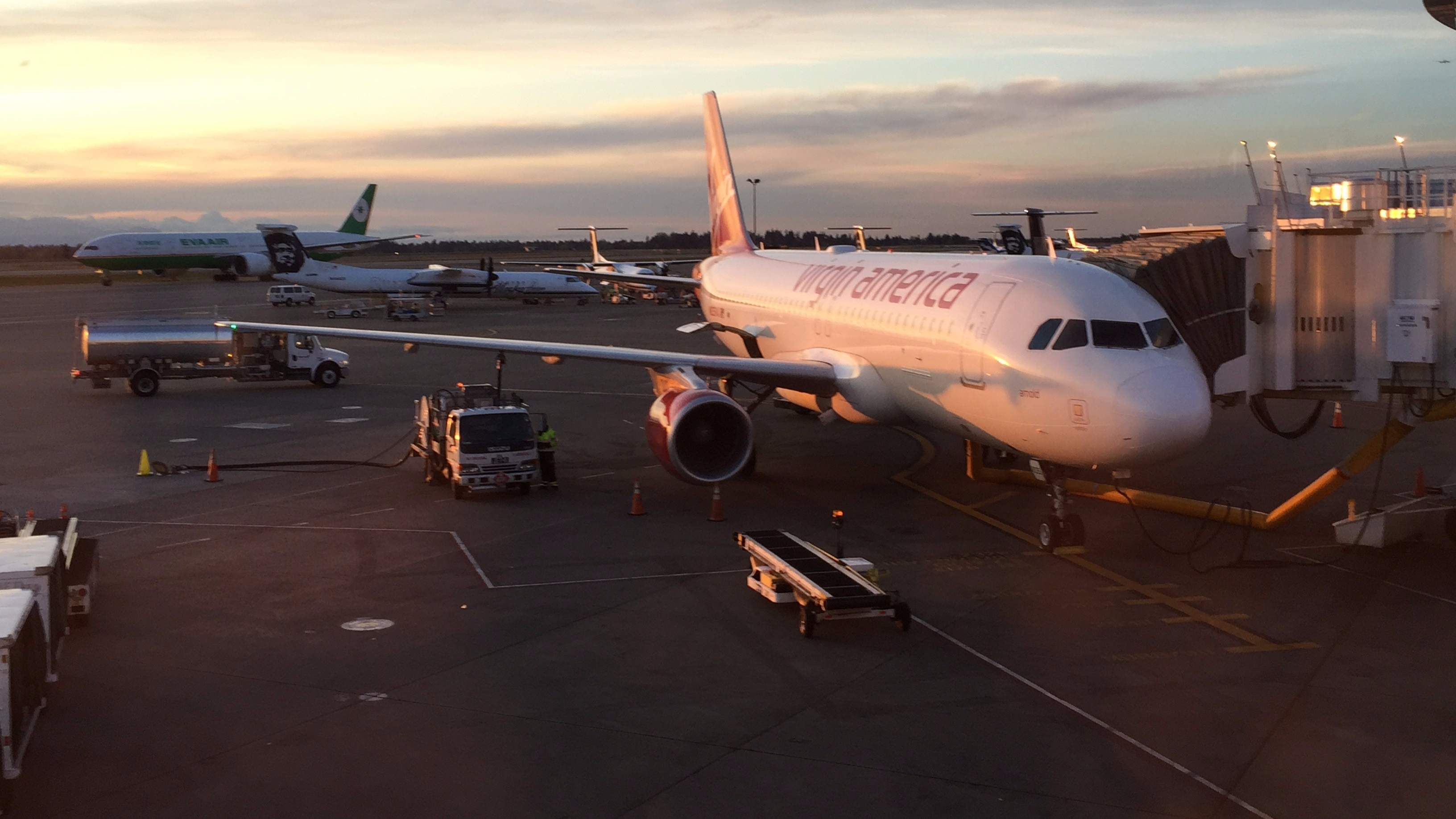 Review: Virgin America Economy A320-200 Seattle to Los Angeles