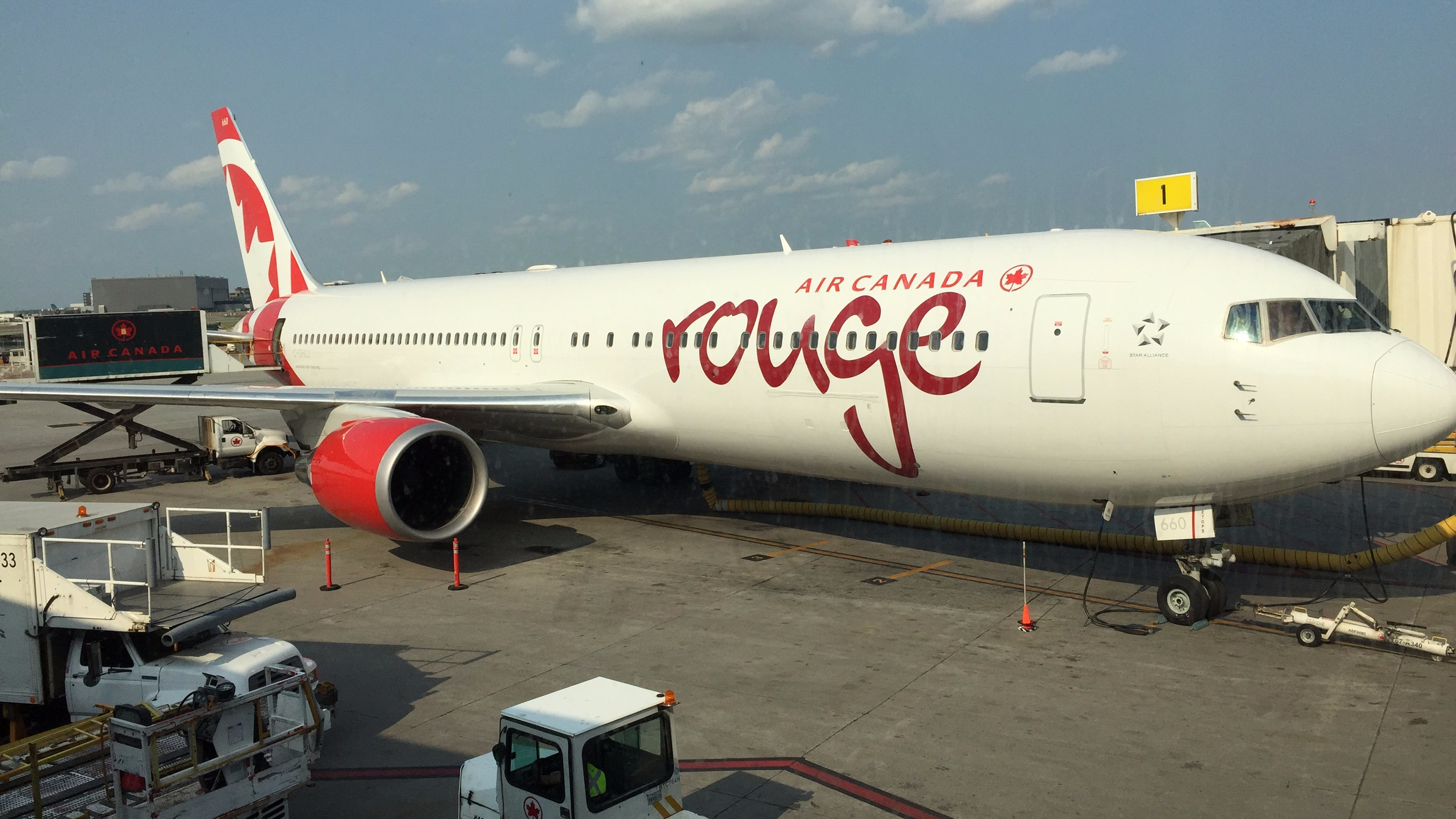 Review: Air Canada Rouge Economy 767-300ER Montreal to Rome | The Aircraft  King