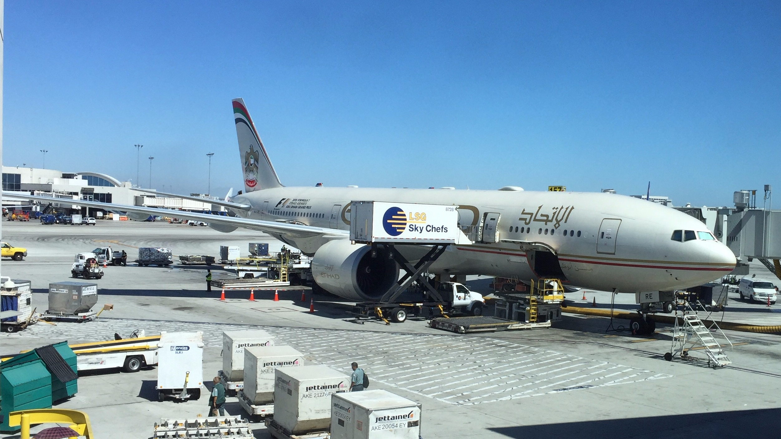 Review: Etihad Airways Economy 777-200LR Los Angeles to Abu Dhabi