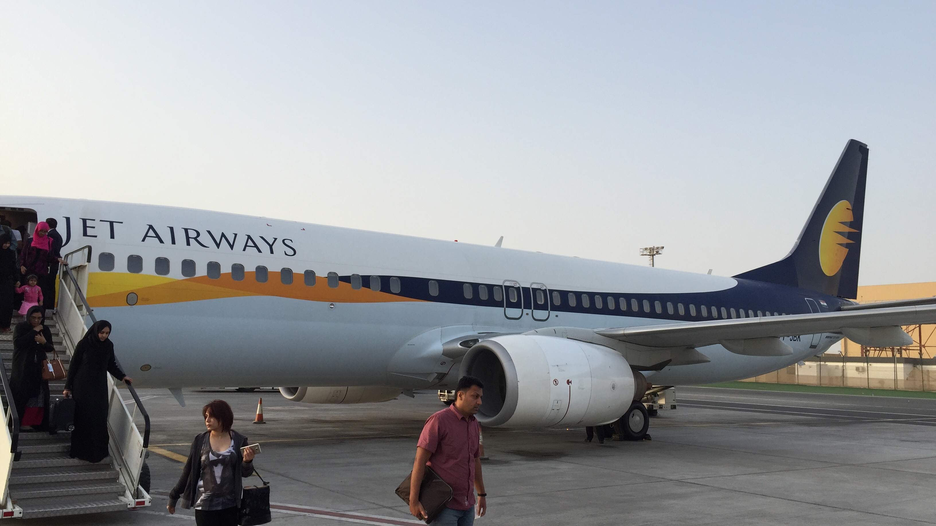 Review: Jet Airways Economy 737-800W Pune to Abu Dhabi