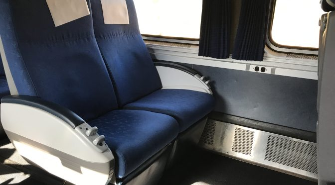 Review: Amtrak Pacific Business Class San Diego Old Town to Santa Ana