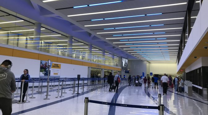 Review: Los Angeles International Airport Terminal 7