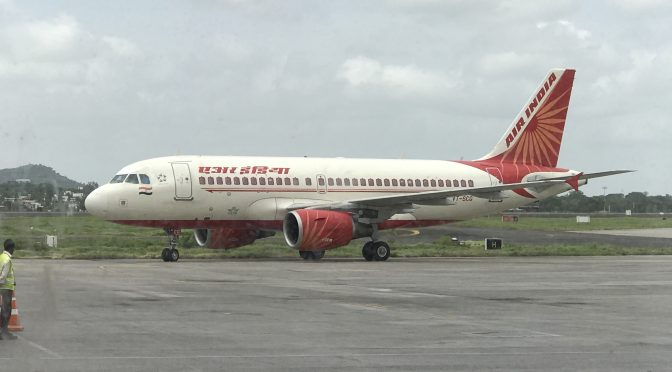 Review: Air India A319-100 Economy Class Pune to Hyderabad