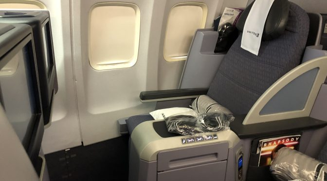 Review: United 757-200 Transcontinental Business Class San ...