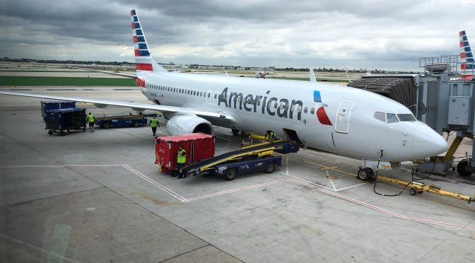 Review: American Airlines 737-800 First Class Chicago to Dallas