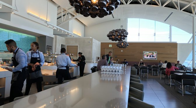Review: American Airlines Flagship Lounge LAX