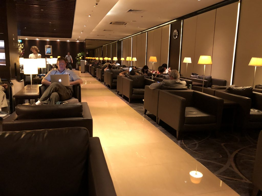 Review Singapore Airlines Silverkris Business Class