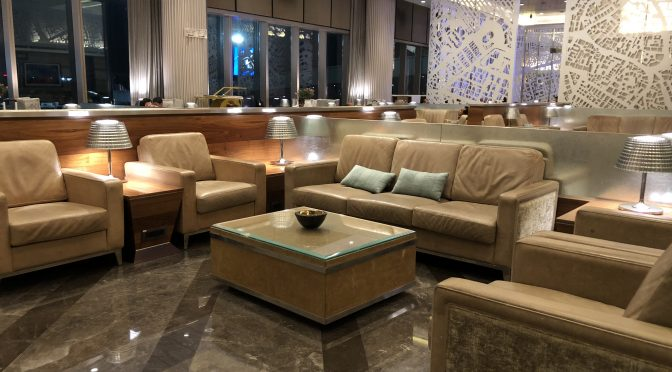 Review: GVK International Business Class Lounge Mumbai