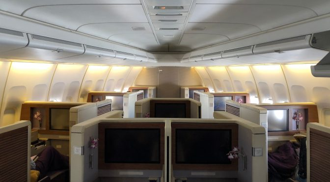 Review: Thai Airways 747-400 Royal Silk Business Class Mumbai to Bangkok