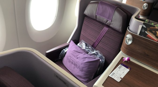 Review: Thai Airways A350-900 Royal Silk Business Class Bangkok to Singapore