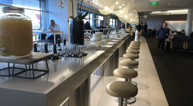 Review: Qantas International Business Class Lounge Sydney