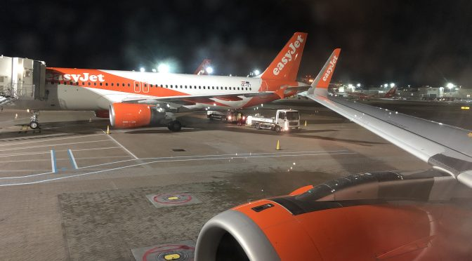 Review: EasyJet A321Neo Economy Class Rome to London Gatwick